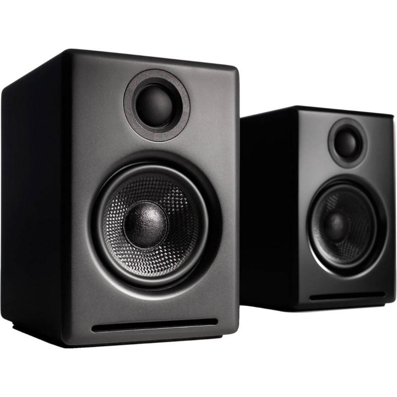 AUDIOENGINE A2+ WIRELESS PREMIUM POWERED SPEAKERS BLACK ( ΖΕΥΓΟΣ )  - ΔΙΑΘΕΣΙΜΟ ΠΡΟΣ ΑΚΡΟΑΣΗ -